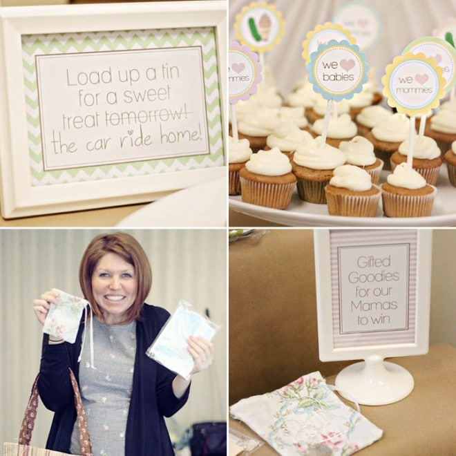 pamper the mommy baby shower 5