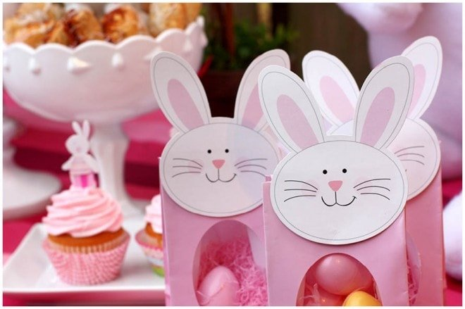 easter bunny favors