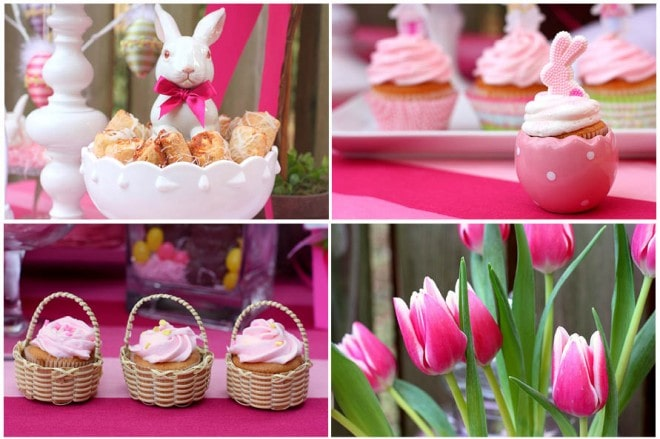 easter party table