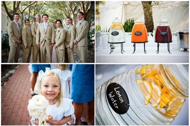 khaki suits wedding