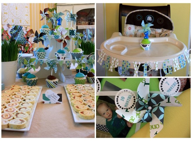 pinwheel birthday party