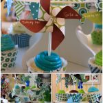 Pinwheel First Birthday Party