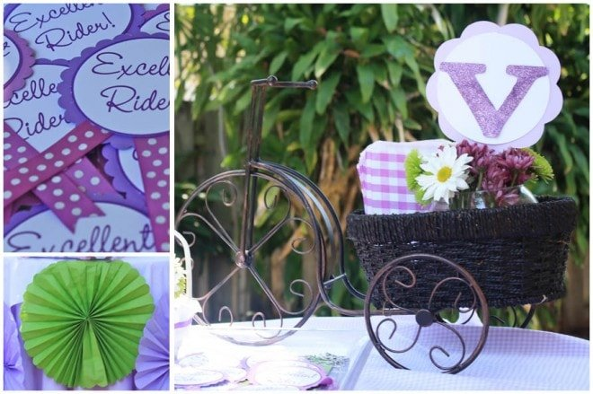 bicycle birthday party