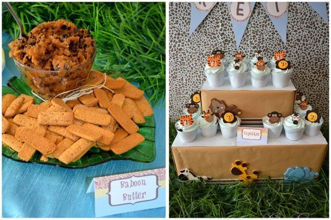 safari birthday party picture ideas