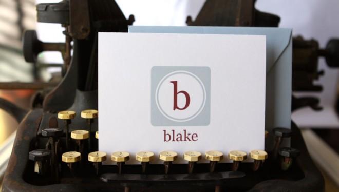 typewriter stationery