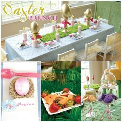 spring easter brunch glam party