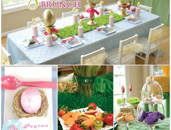 Glam Children's Easter Brunch