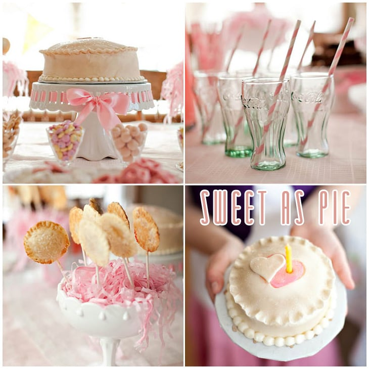 sweet as pie first birthday party