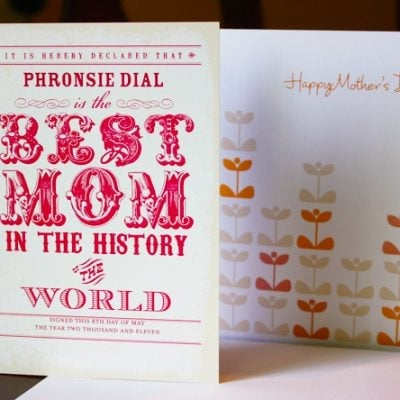 tiny prints mom day