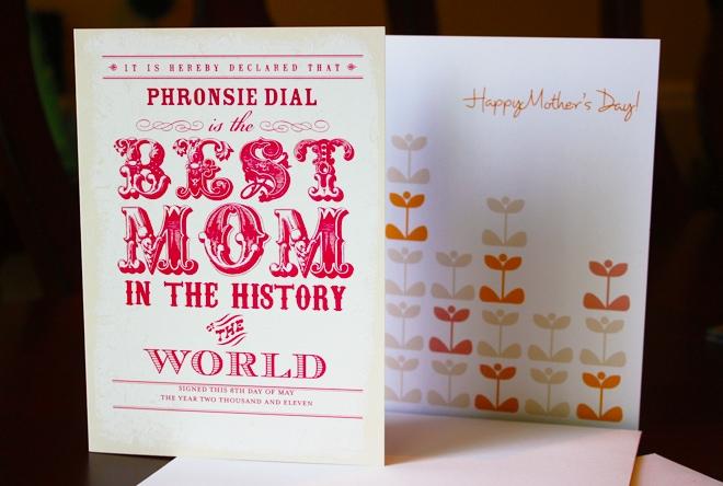 tiny prints mom day