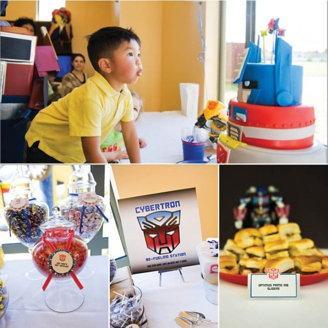 transformers birthday party 1