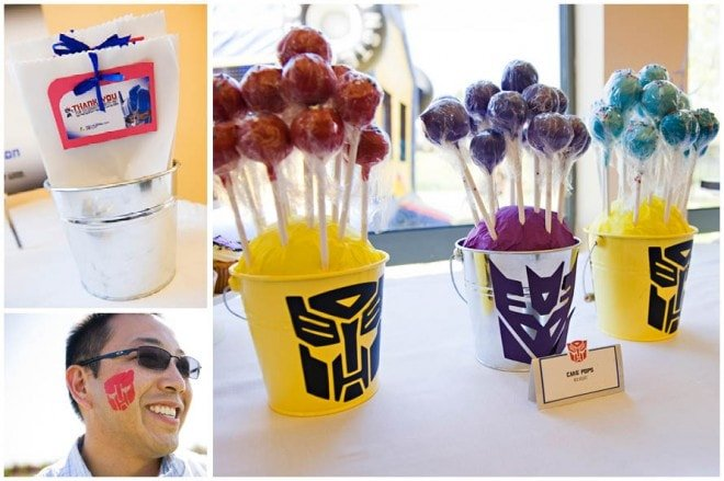 Transformers Birthday Party Pizzazzerie
