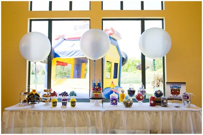 transformers birthday party 4