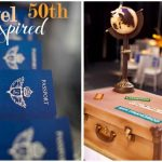 Travel Inspired 50th Birthday Party