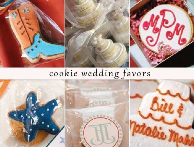 {Wedding Favors} Sugar Cookie Cakes
