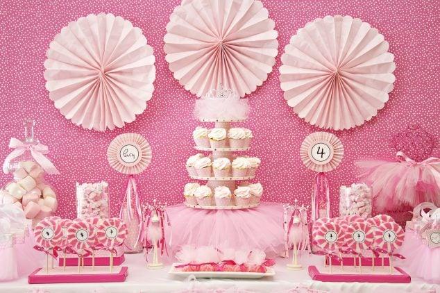 Pink Ballerina Birthday Party