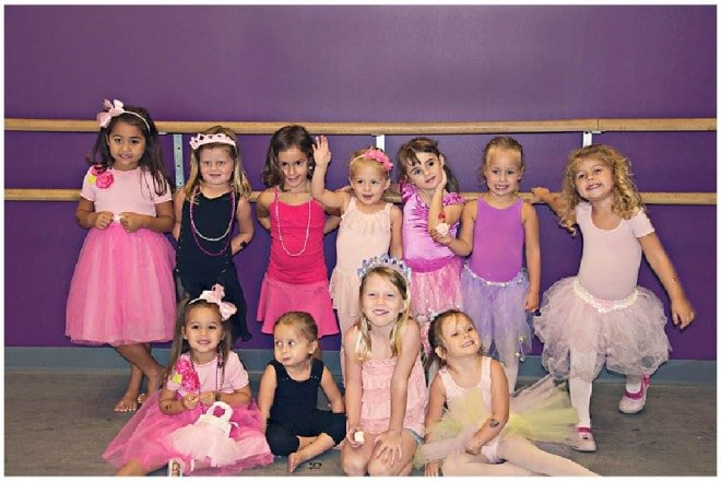 ballerina girls birthday party