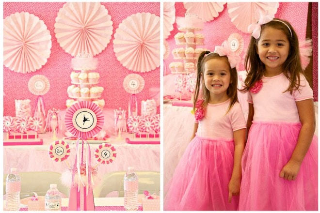 Pink Ballerina Birthday Party!