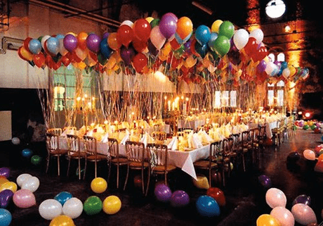 balloons party