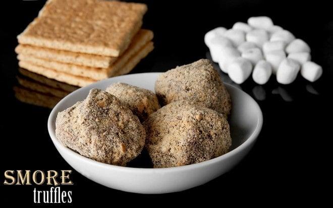 smore truffle recipe