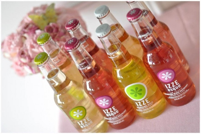 izze sodas at party