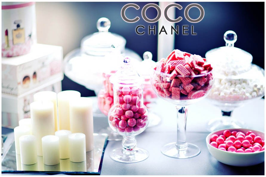 coco chanel baby shower brunch party