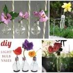 diy light bulb vases