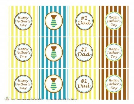 {Free!} Father's Day Party Printables