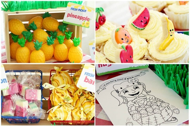 fruit stand birthday party 5