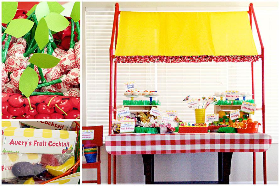 A Quot Berry Quot Cute Fruit Stand Party Pizzazzerie