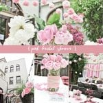 hello kitty themed pink bridal shower
