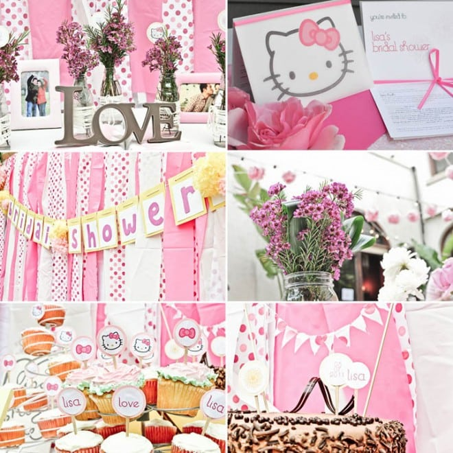 pink hello kitty party