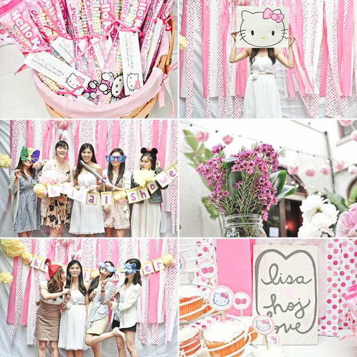 07324e366b1e hello kitty pink bridal shower