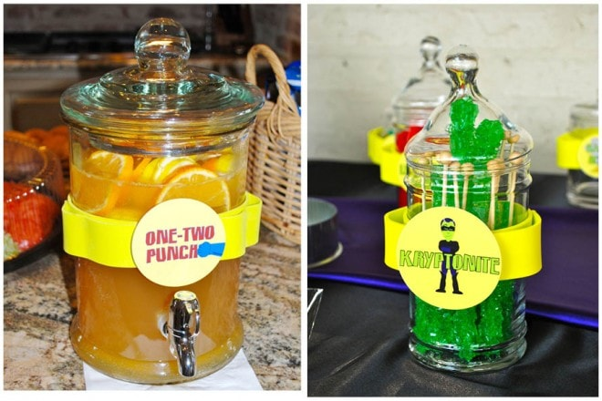 superhero party punch