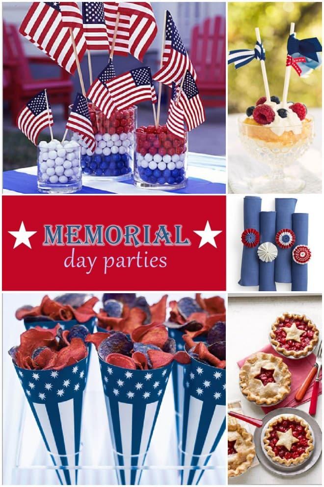 memorial day party ideas