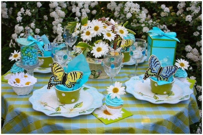 mothers day butterfly table 2