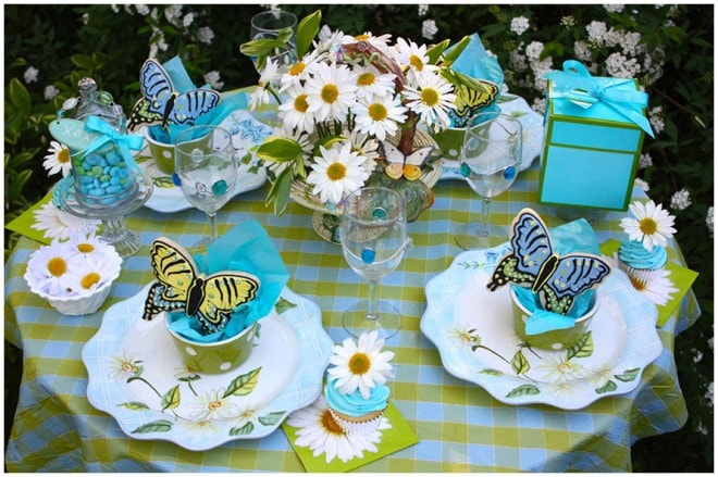 mothers day butterfly table 3