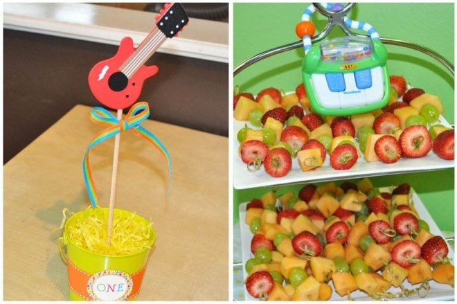 Music Themed 1st Birthday Party!