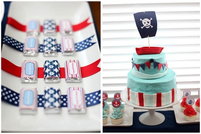 july 4th party ideas pirate