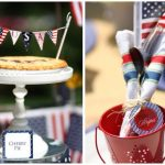 patriotic red white and blue party ideas