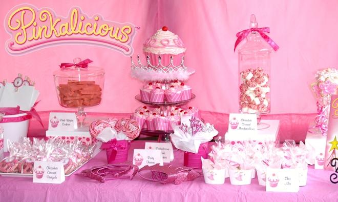 pinkalicious birthday party table