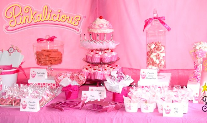 pinkalicious birthday party table