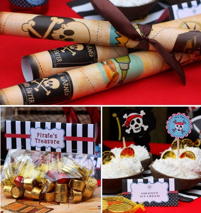 pirate birthday party ideas 2