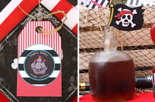 pirate Caribbean birthday party