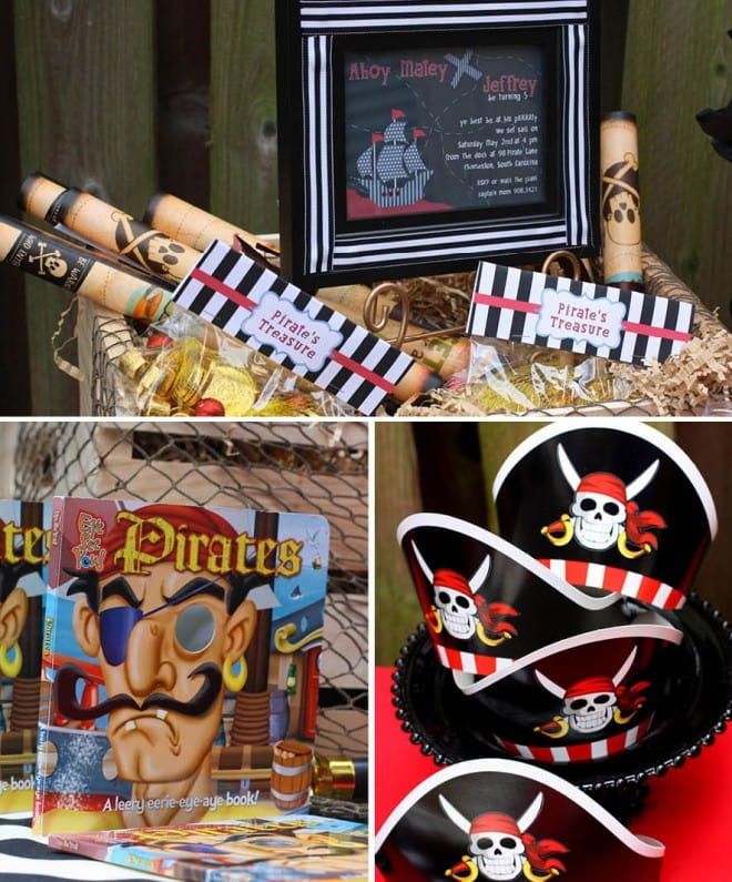 pirate party treasure map
