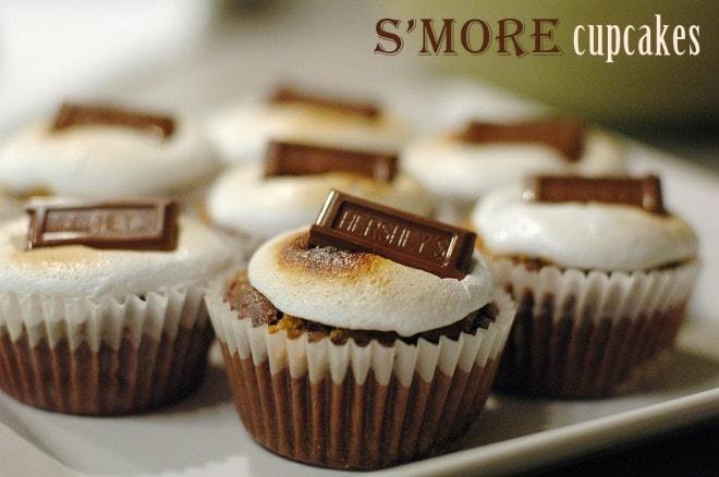 s'more cupcake recipe