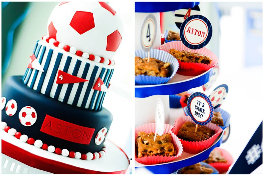 Soccer Themed 4th Birthday Party