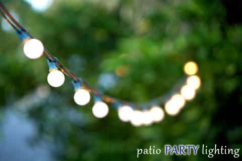 PATIO PARTY LIGHTING