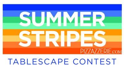 Summer Stripes Tablescape Contest