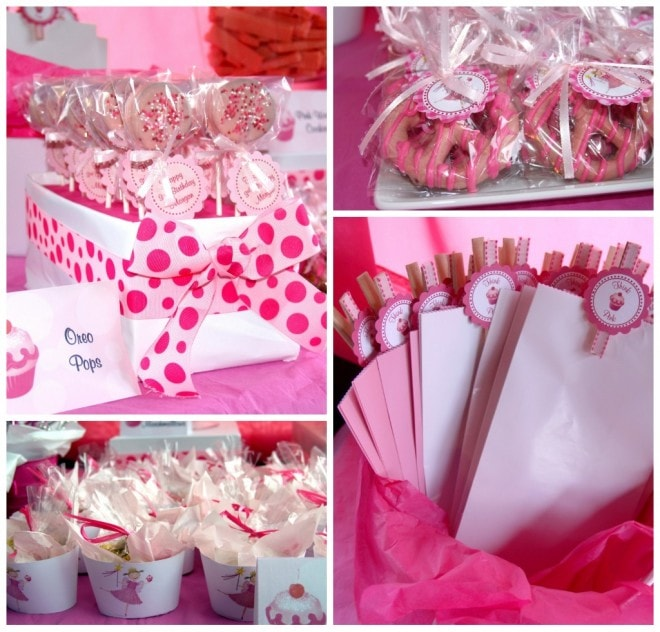 pinkalicious party food